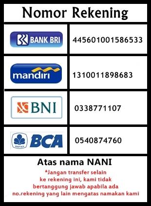 Nomor rekening